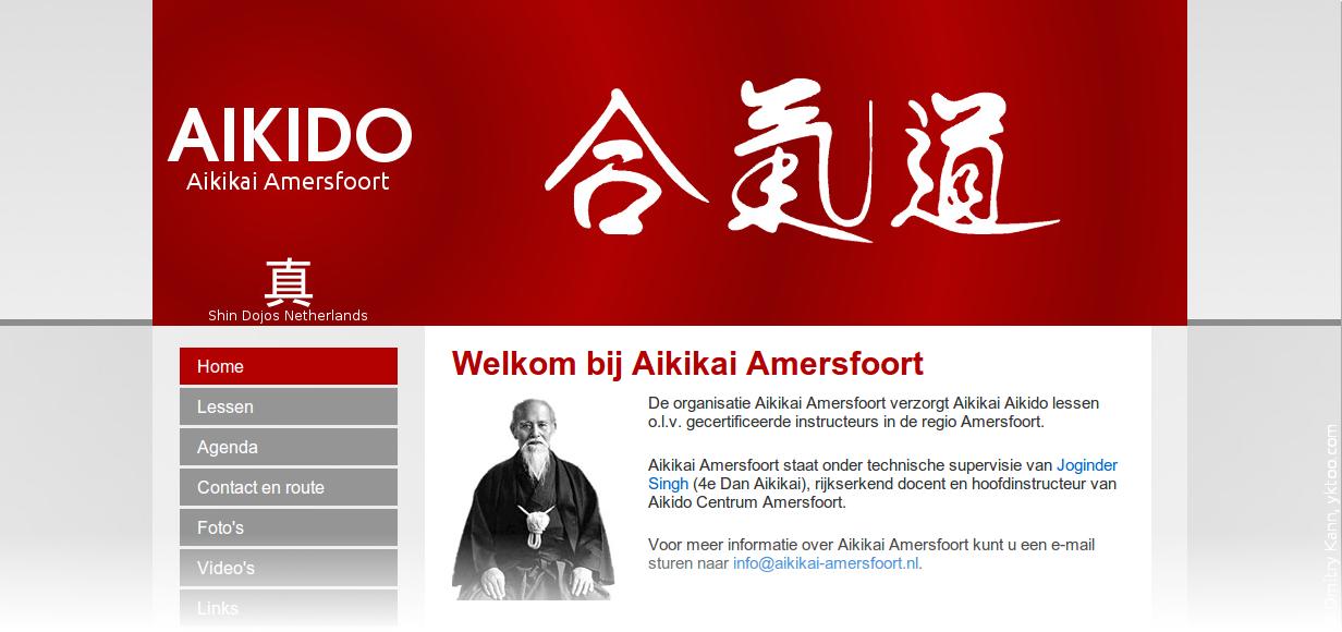 Aikikai Amersfoort website